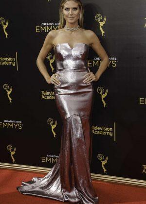Heidi Klum - Creative Arts Emmy Awards 2016 in Los Angeles
