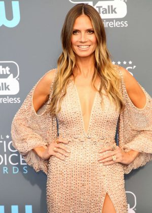 Heidi Klum - Critics' Choice Awards 2018 in Santa Monica