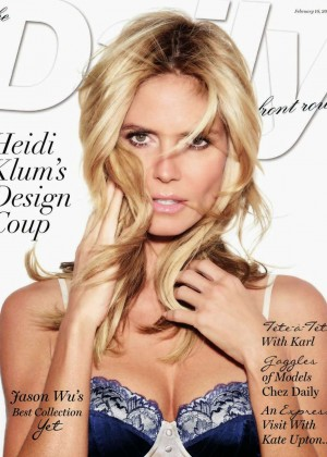Heidi Klum - Daily Front US Cover (February 2015)