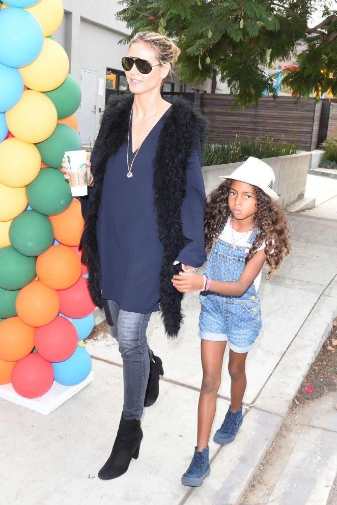 Heidi Klum - Elizabeth Glaser Pediatric AIDS Foundation's 'A Time For Heroes' in LA