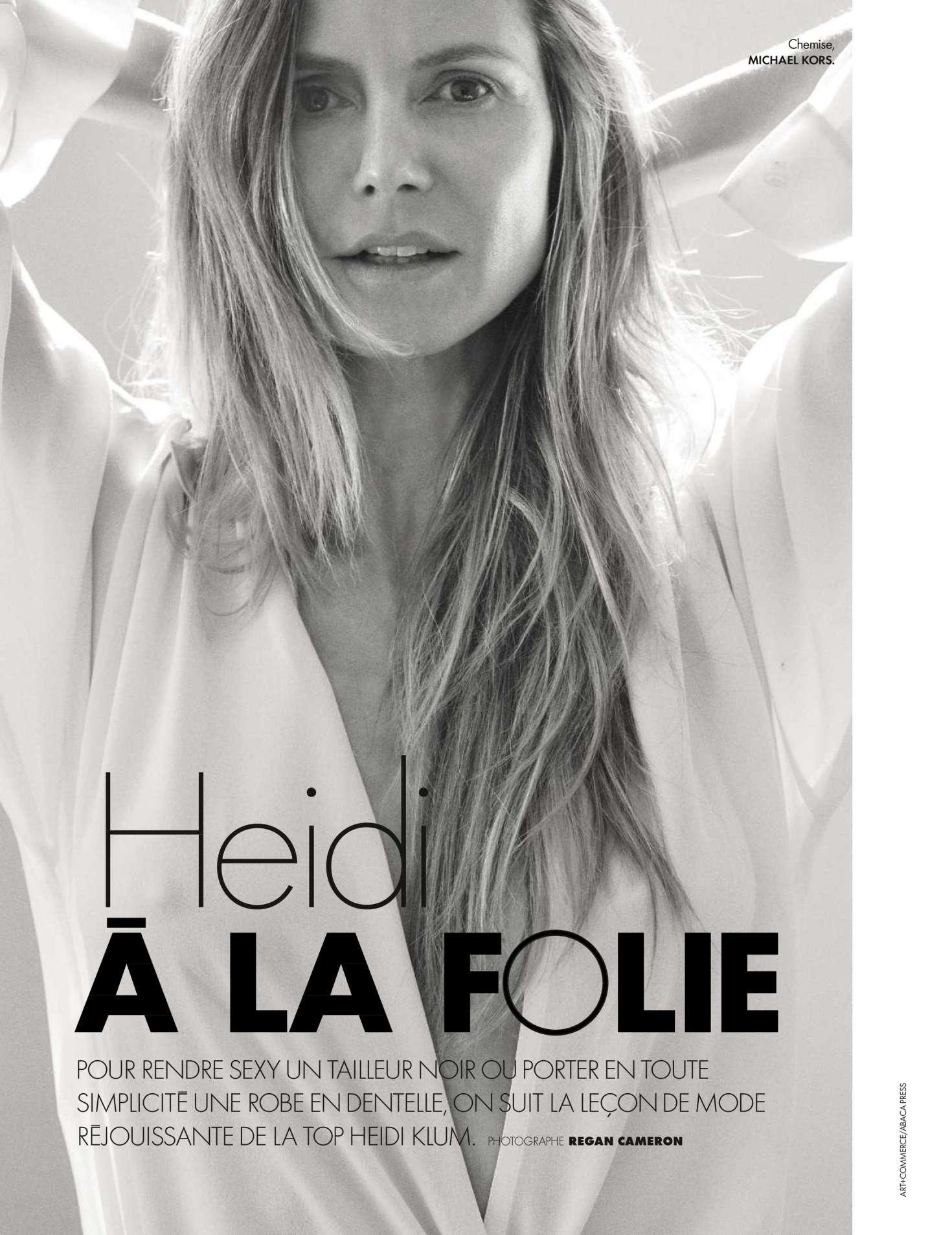 Heidi Klum - Elle France Magazine (May 2018)