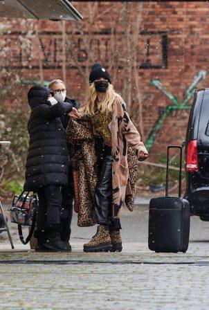 Heidi Klum - Filming 16th season of Germany's Next Topmodel in Berlin