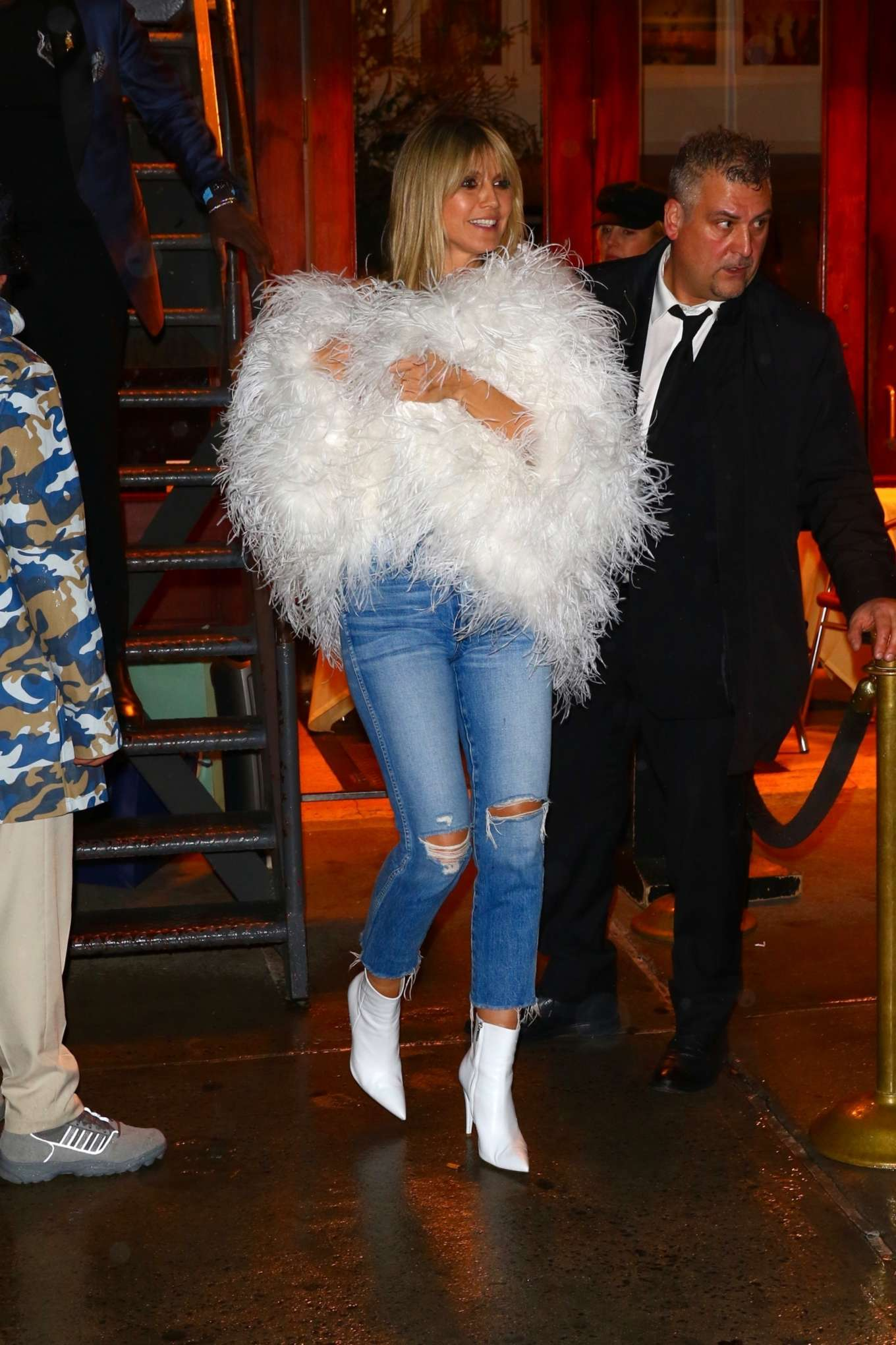 Heidi Klum 2020 : Heidi Klum – Heads to a party after the amfAR Gala in New York-07