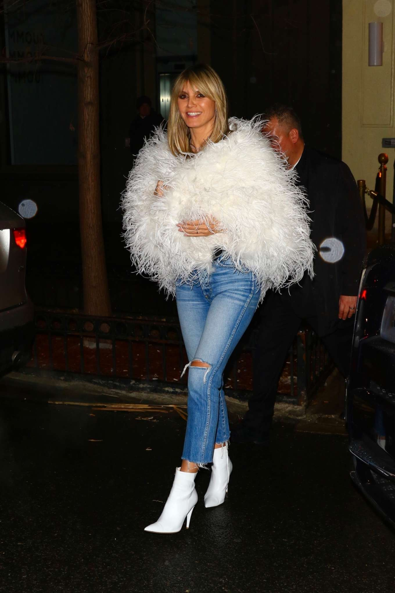 Heidi Klum 2020 : Heidi Klum – Heads to a party after the amfAR Gala in New York-09