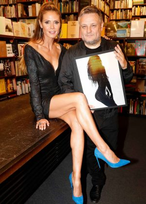 Heidi Klum - Heidi Klum by Rankin book launch in Cologne