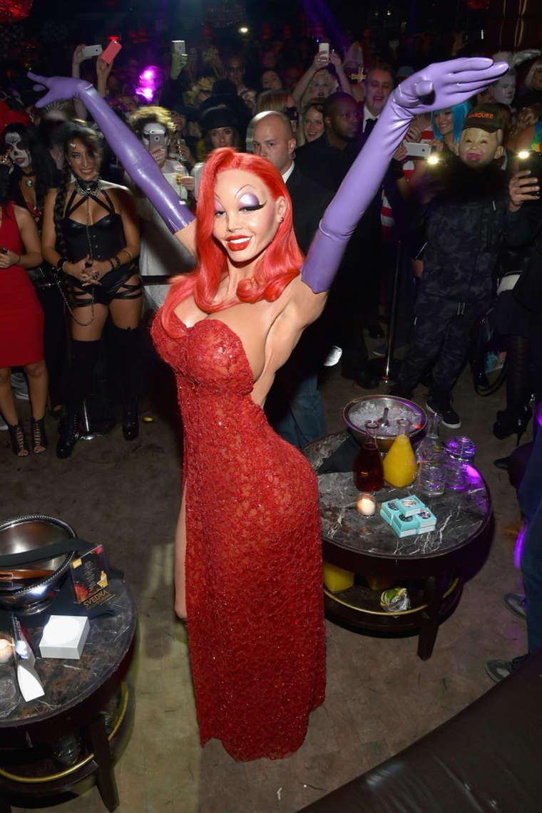 Heidi Klum: Heidi Klum Halloween Party 2015 -14 - GotCeleb