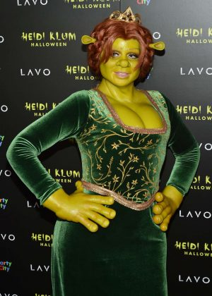 Heidi Klum - Heidi Klum's 19th Annual Halloween Party in NYC