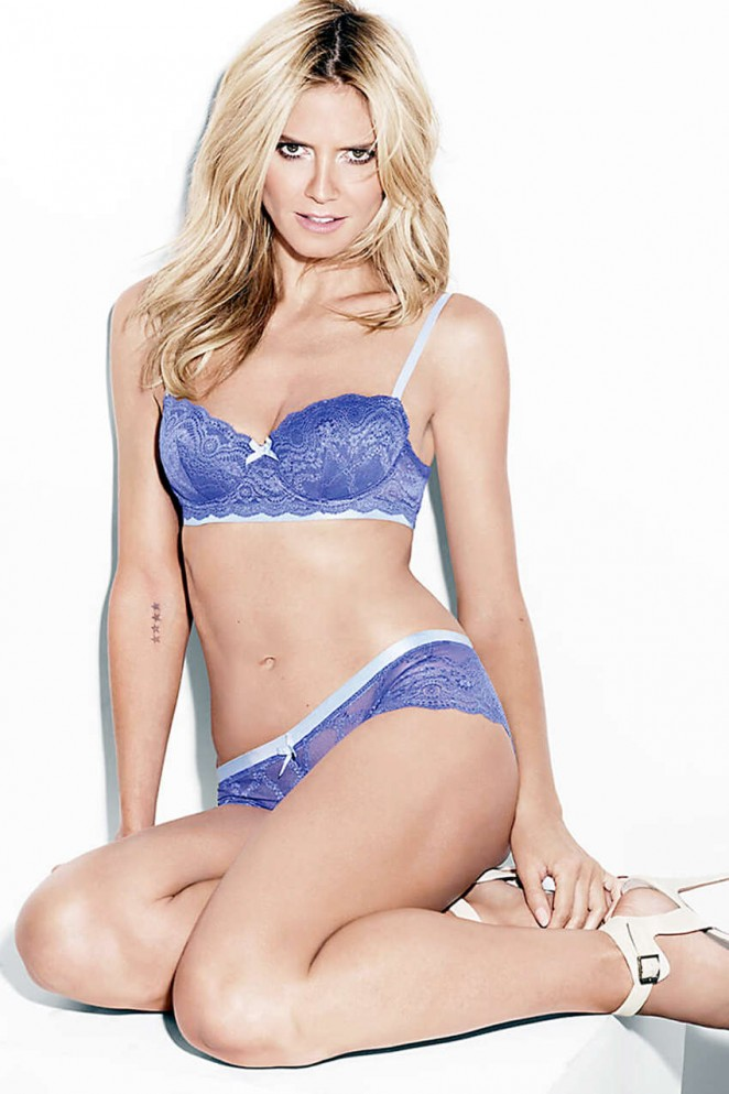 Heidi Klum - HK Intimate Lingerie Collection 2015