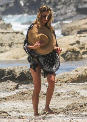 Heidi Klum In Bikini At The Beach In San Jose Gotceleb