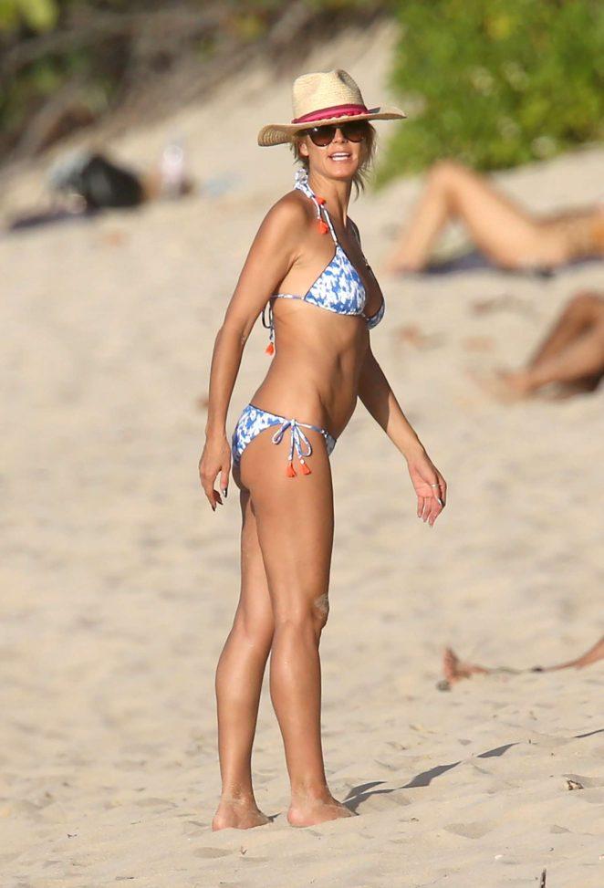 Heidi Klum in Bikini 2016 -17