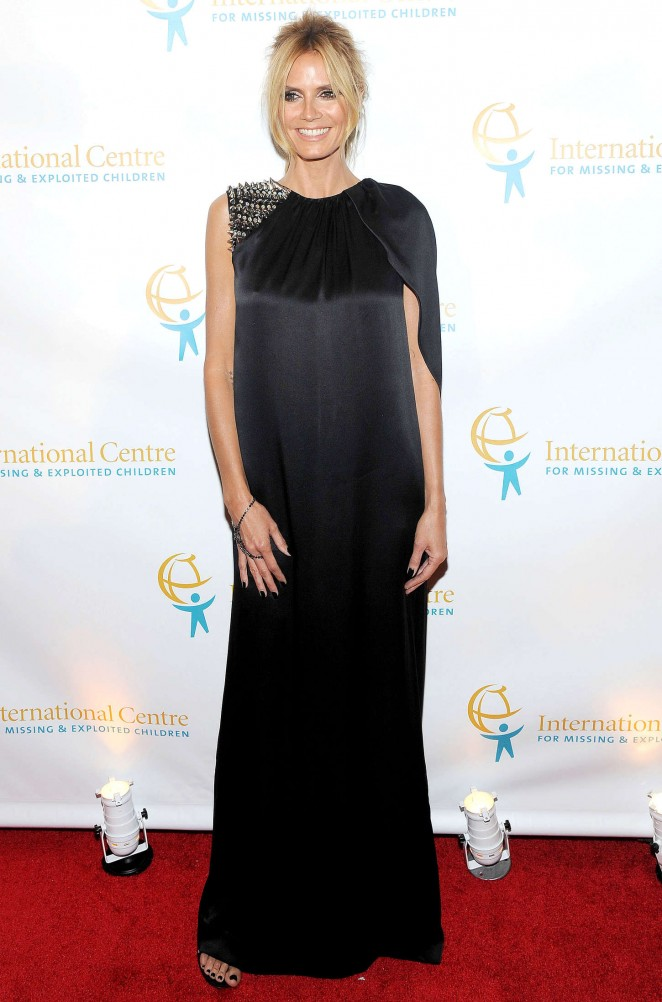 Heidi Klum - International Centre For Missing And Exploited Children's Inaugural Gala in NYC