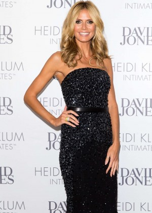 Heidi Klum - Intimate Dinner Hosted by David Jones in Sydney