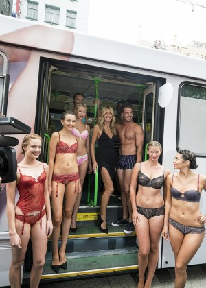 Heidi Klum - Intimates Collection Launch in Melbourne