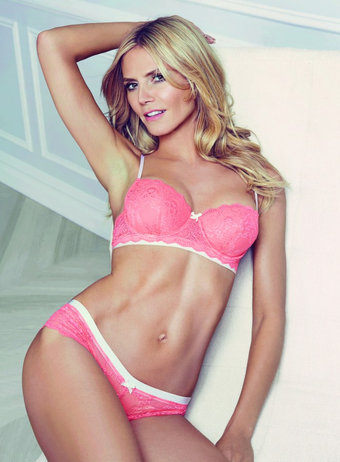 Heidi Klum - Intimates Collection Spring/Summer 2016