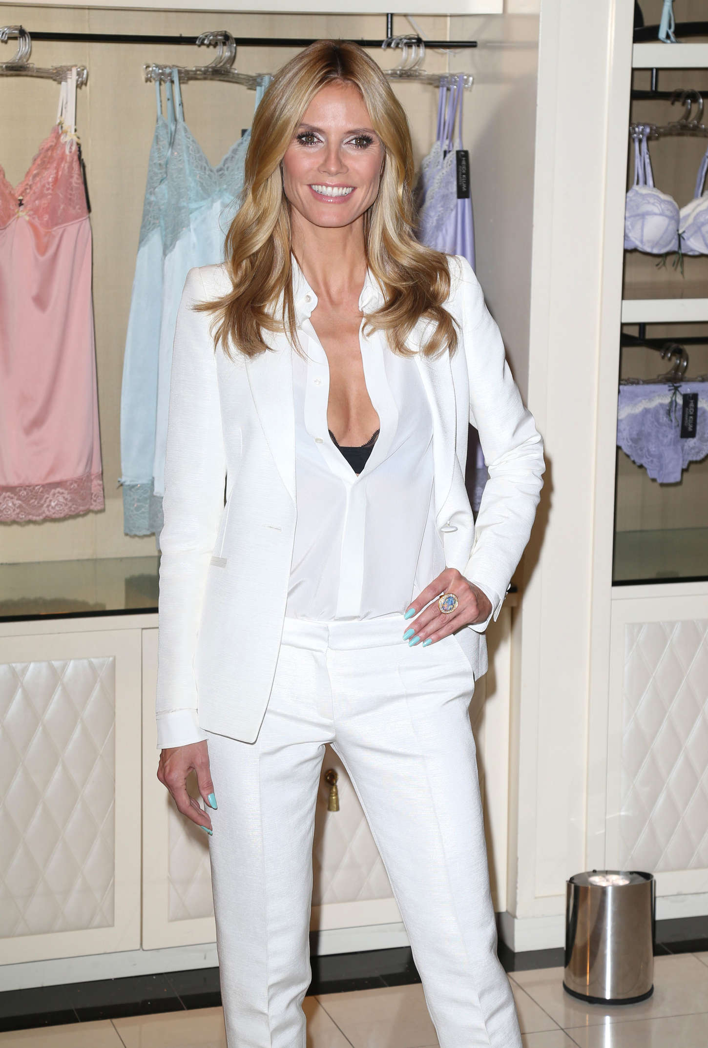 Heidi Klum - Intimates Launch in NYC