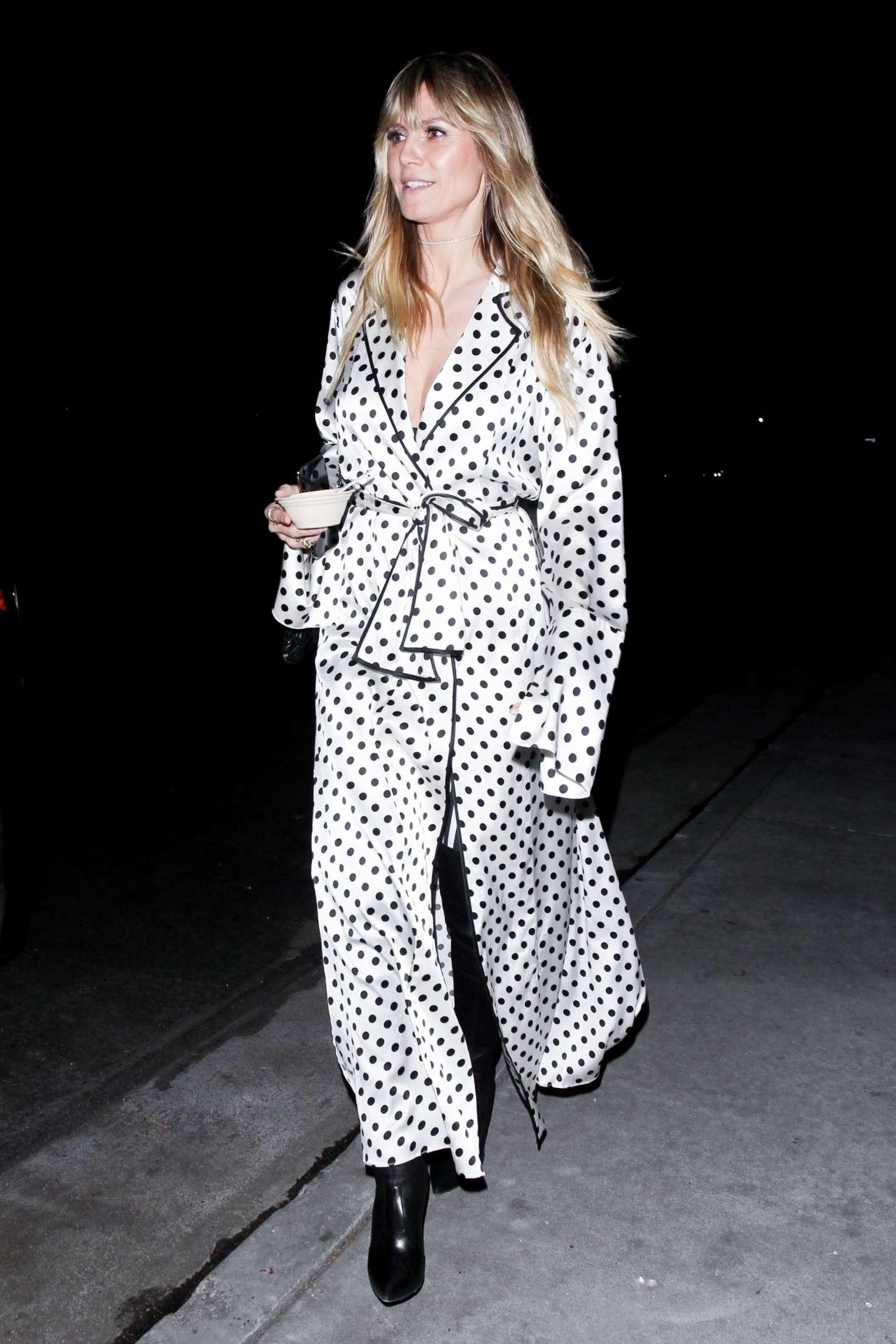 Heidi Klum 2019 : Heidi Klum: Leaves Billie Eilish Album Release Party -01