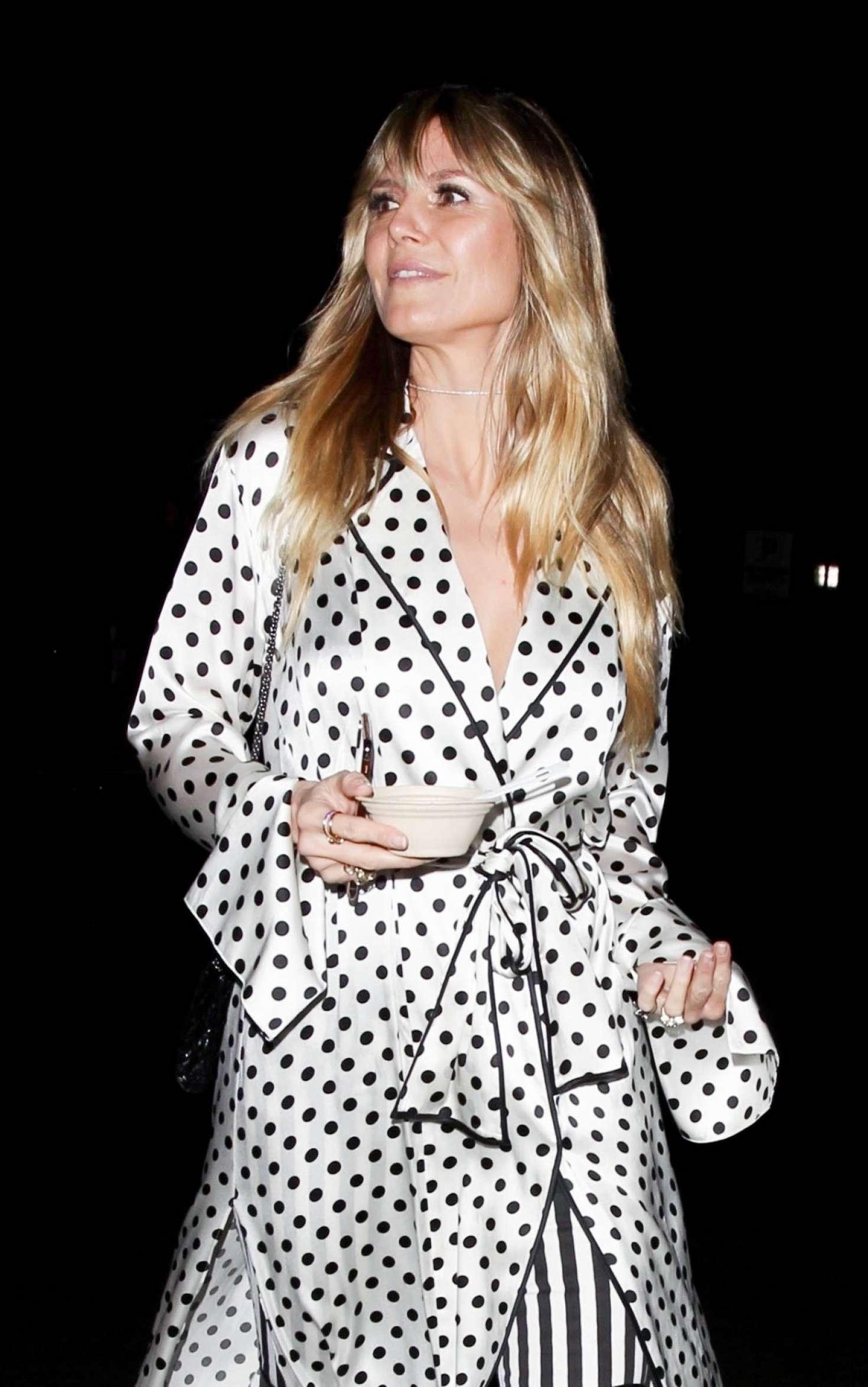 Heidi Klum 2019 : Heidi Klum: Leaves Billie Eilish Album Release Party -03