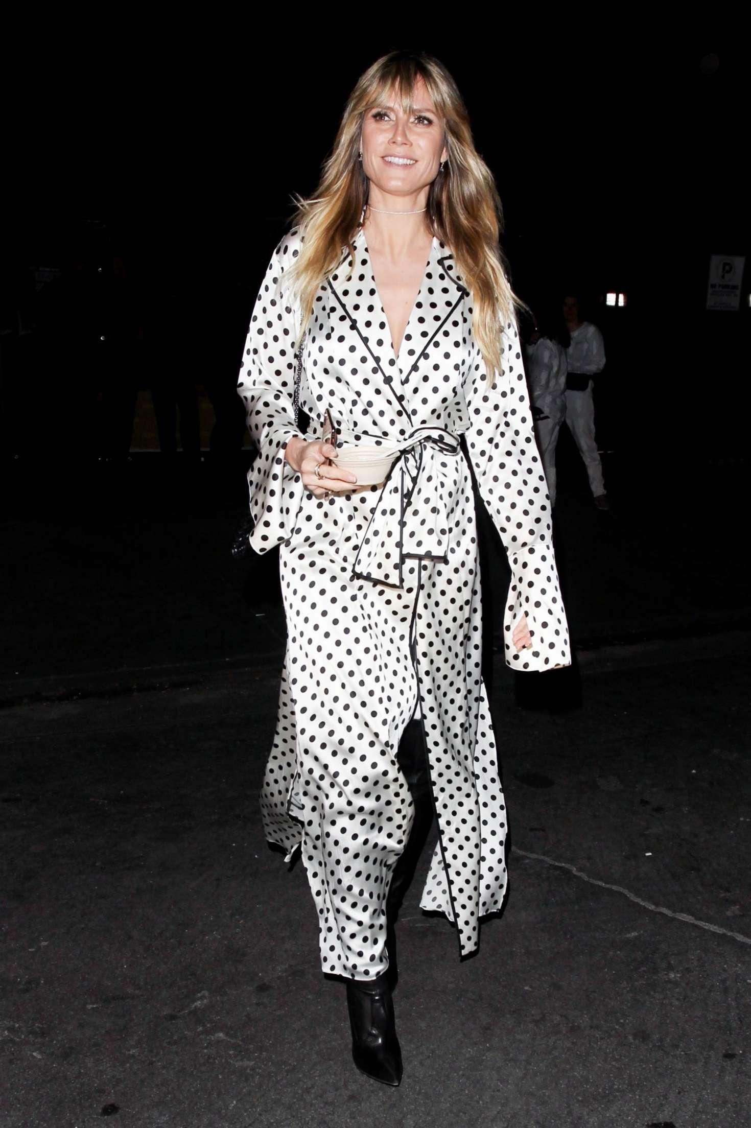 Heidi Klum 2019 : Heidi Klum: Leaves Billie Eilish Album Release Party -09