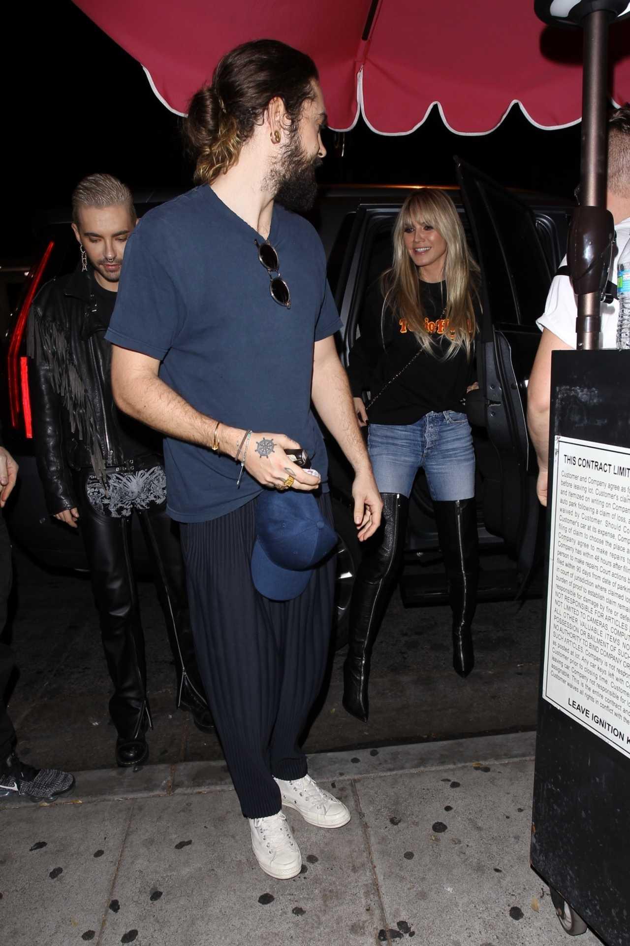 Heidi Klum 2020 : Heidi Klum – leaves the Troubadour in West Hollywood-10