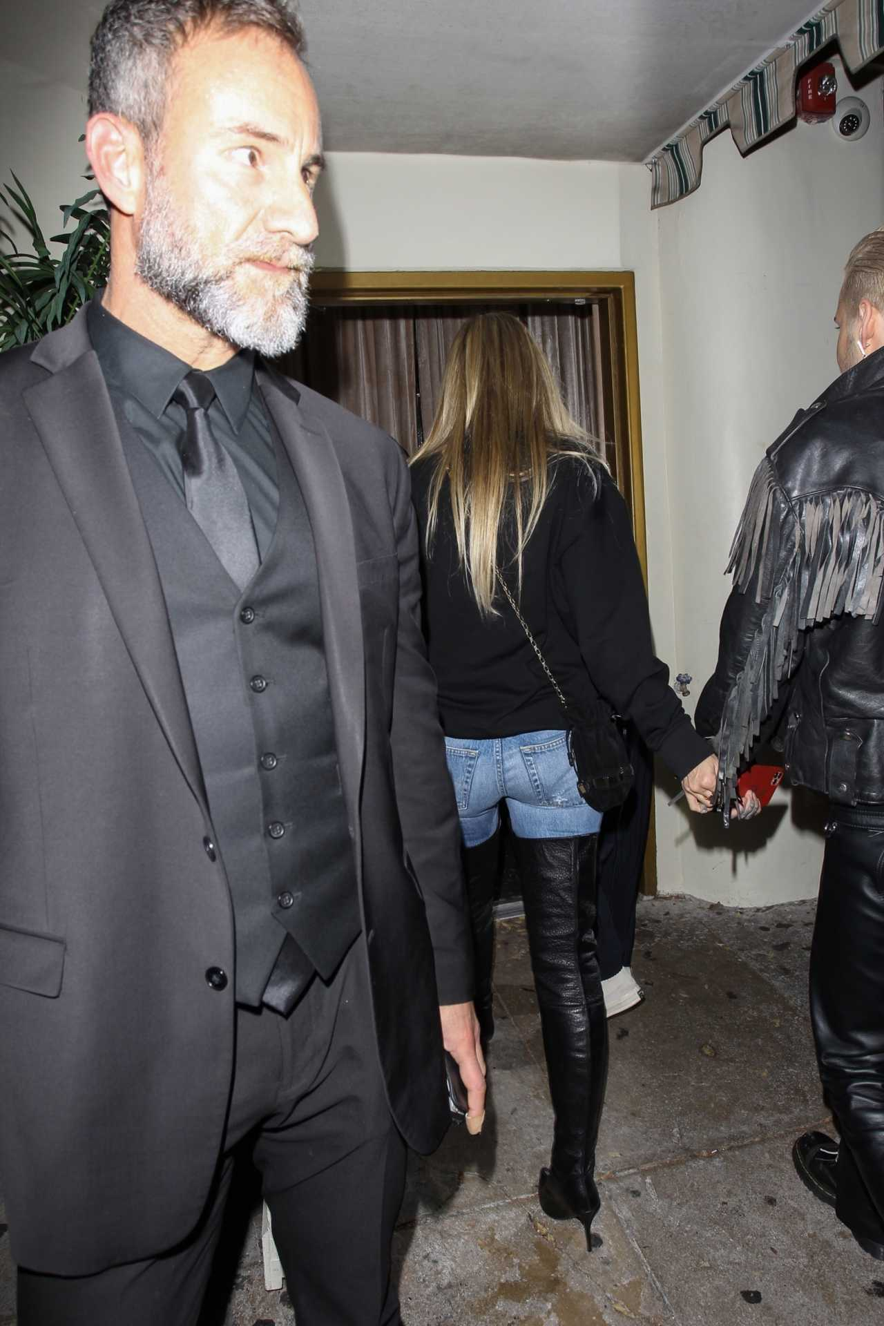 Heidi Klum 2020 : Heidi Klum – leaves the Troubadour in West Hollywood-16