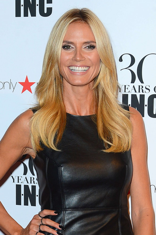Heidi Klum - Macy's Celebrates 30 years of INC International Concepts in NY