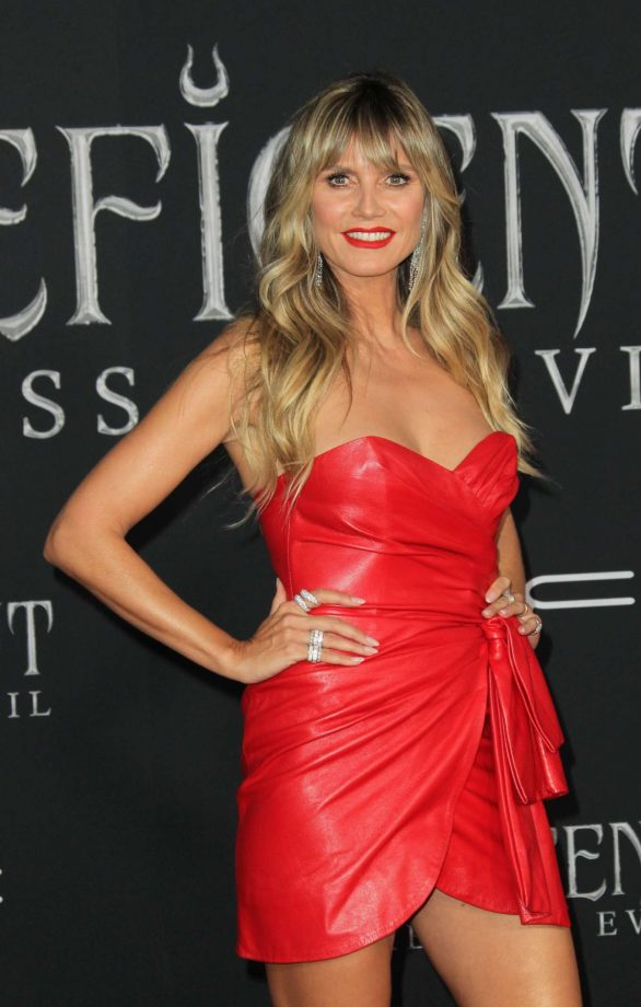 Heidi Klum - 'Maleficent: Mistress of Evil' Premiere in Los Angeles
