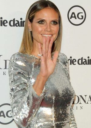 Heidi Klum - Marie Claire Image Makers Awards 2018 in Los Angeles