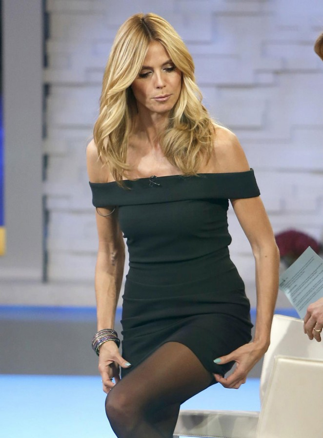 Heidi Klum on 'Good Morning America' in NYC