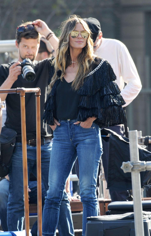 Heidi Klum 2018 : Heidi Klum on the set of Germanys Next Top Model -21