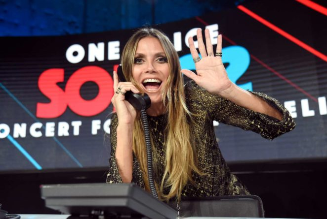 Heidi Klum - 'One Voice: Somos Live! A Concert For Disaster Relief' in LA