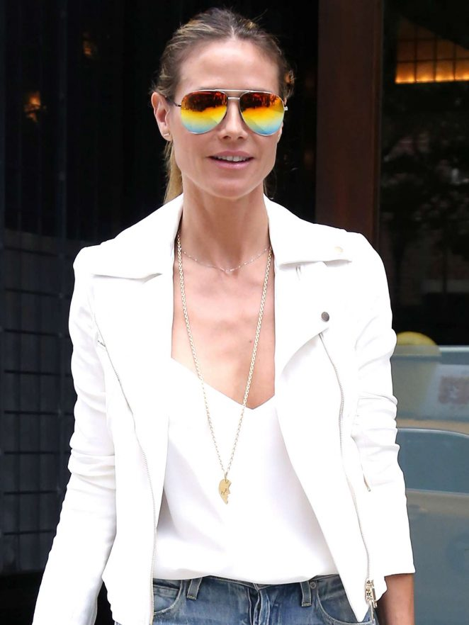 Heidi Klum Out and about in NY -01