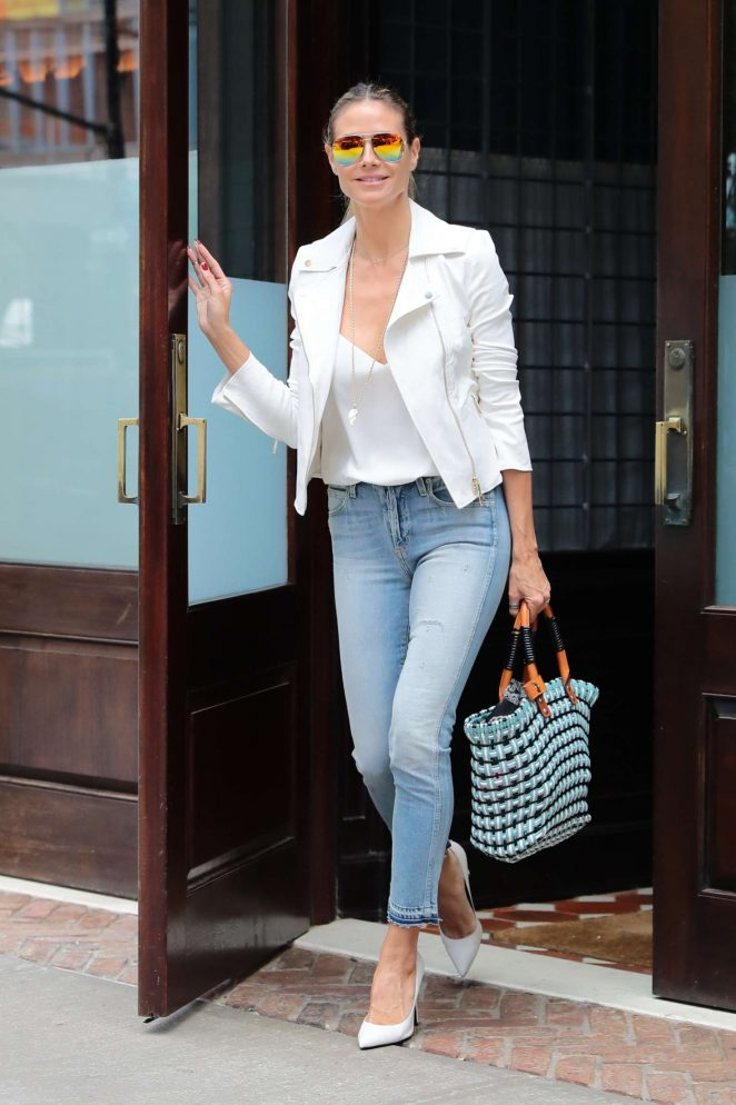 Heidi Klum Out and about in NY -03