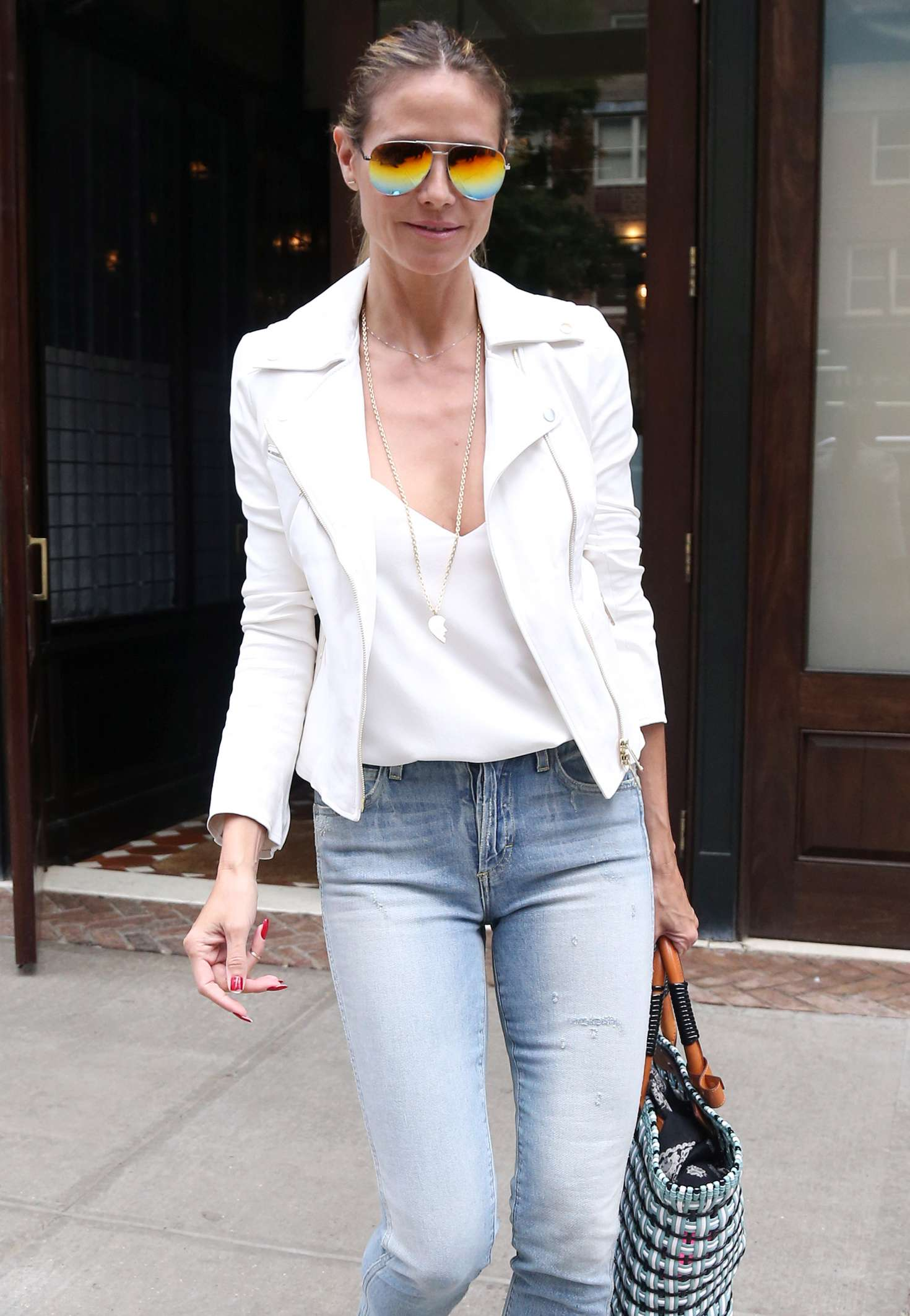 Heidi Klum Out and about in NY