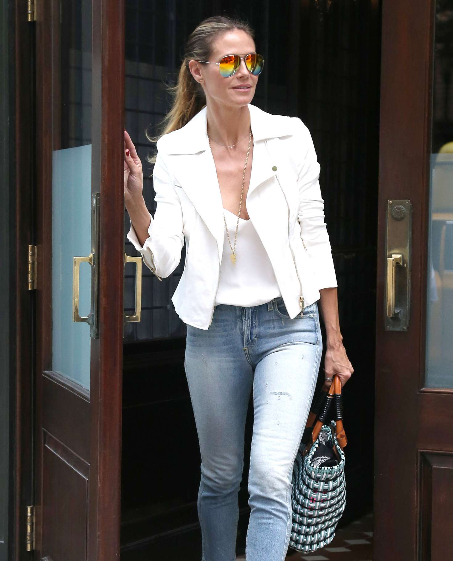 Heidi Klum 2017 : Heidi Klum Out and about in NY -10