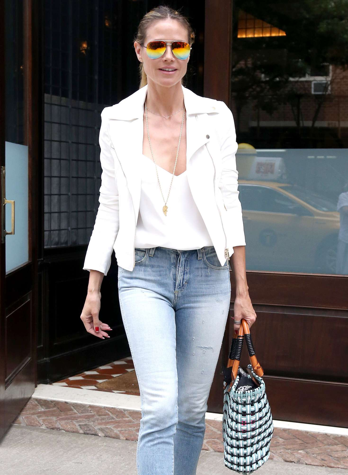 Heidi Klum 2017 : Heidi Klum Out and about in NY -12