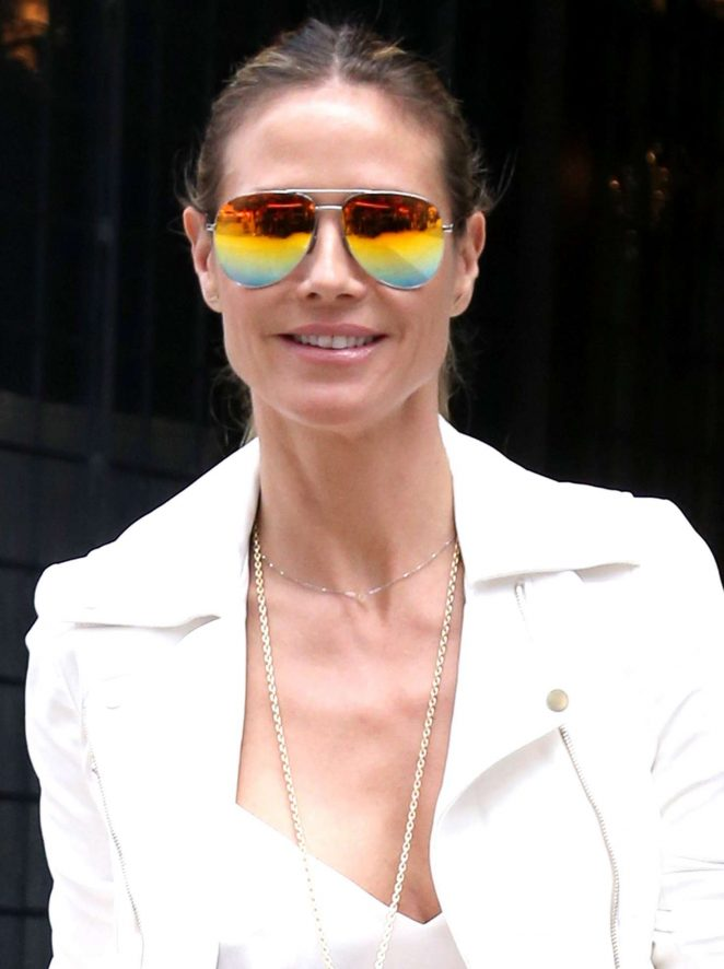 Heidi Klum Out and about in NY -13