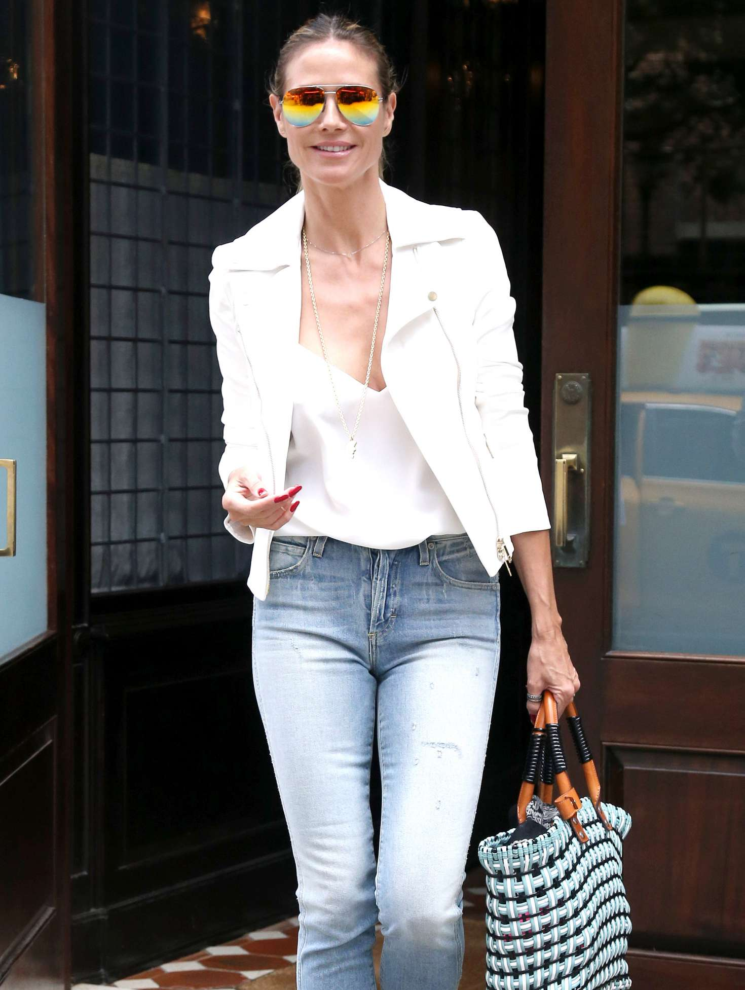 Heidi Klum 2017 : Heidi Klum Out and about in NY -15