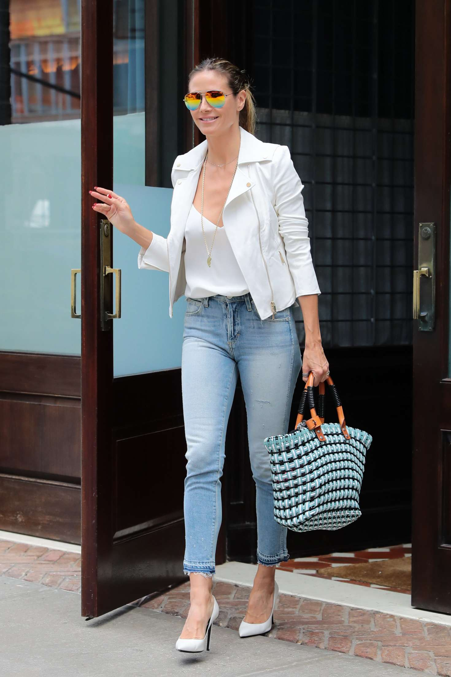 Heidi Klum 2017 : Heidi Klum Out and about in NY -18