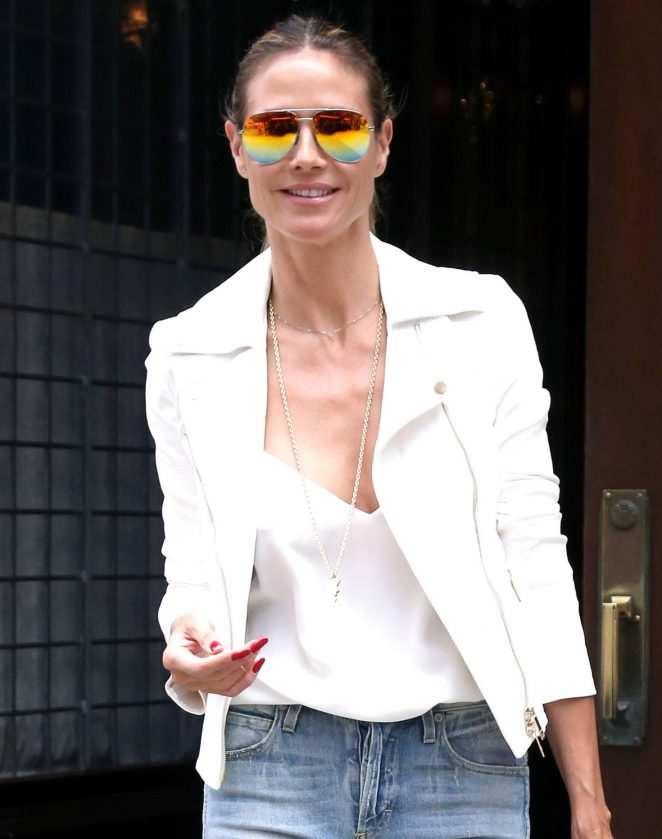 Heidi Klum 2017 : Heidi Klum Out and about in NY -21