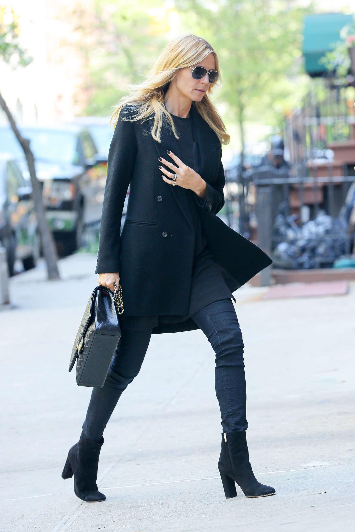 Heidi Klum 2015 : Heidi Klum in jeans -01