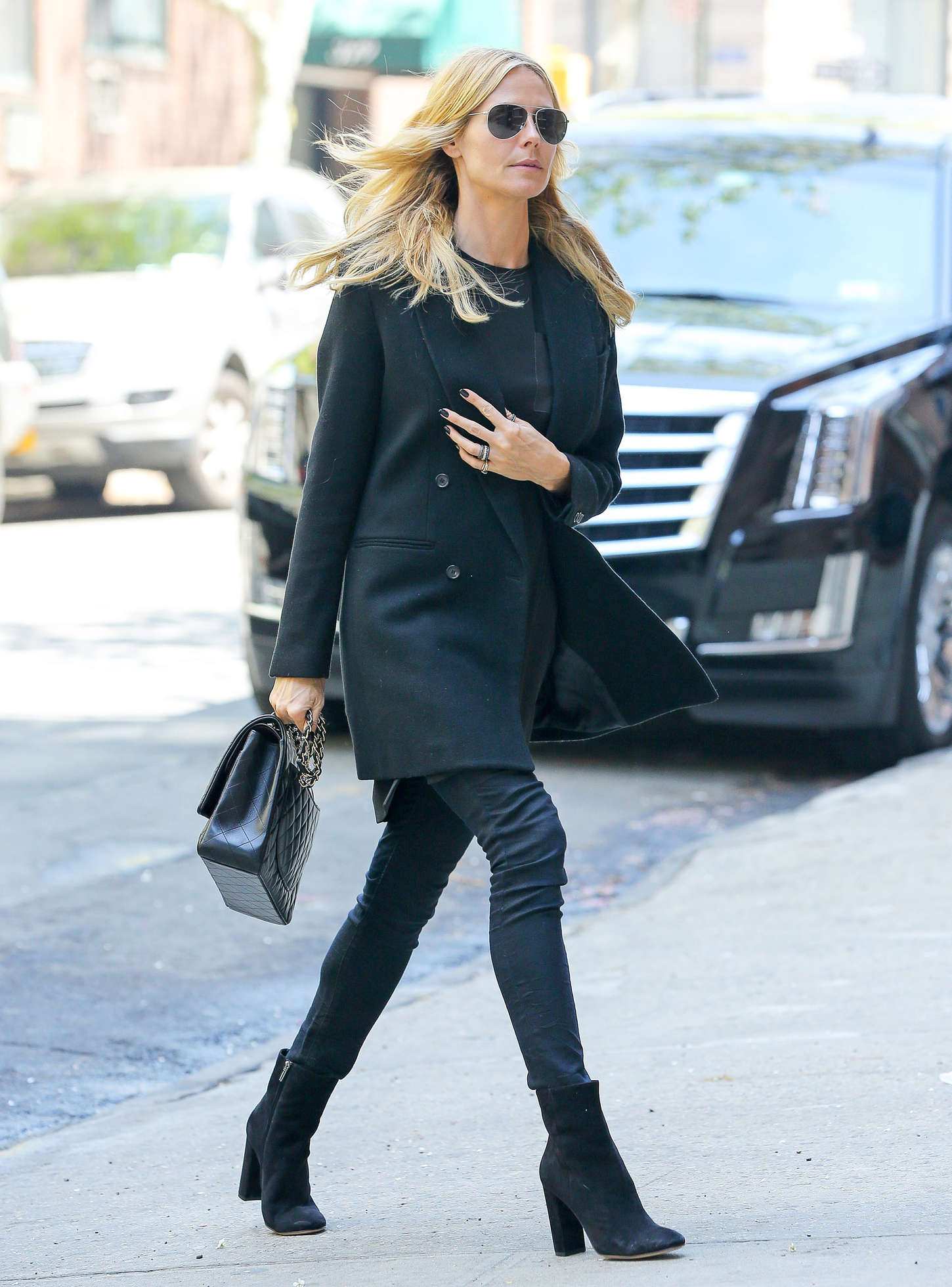 Heidi Klum 2015 : Heidi Klum in jeans -04