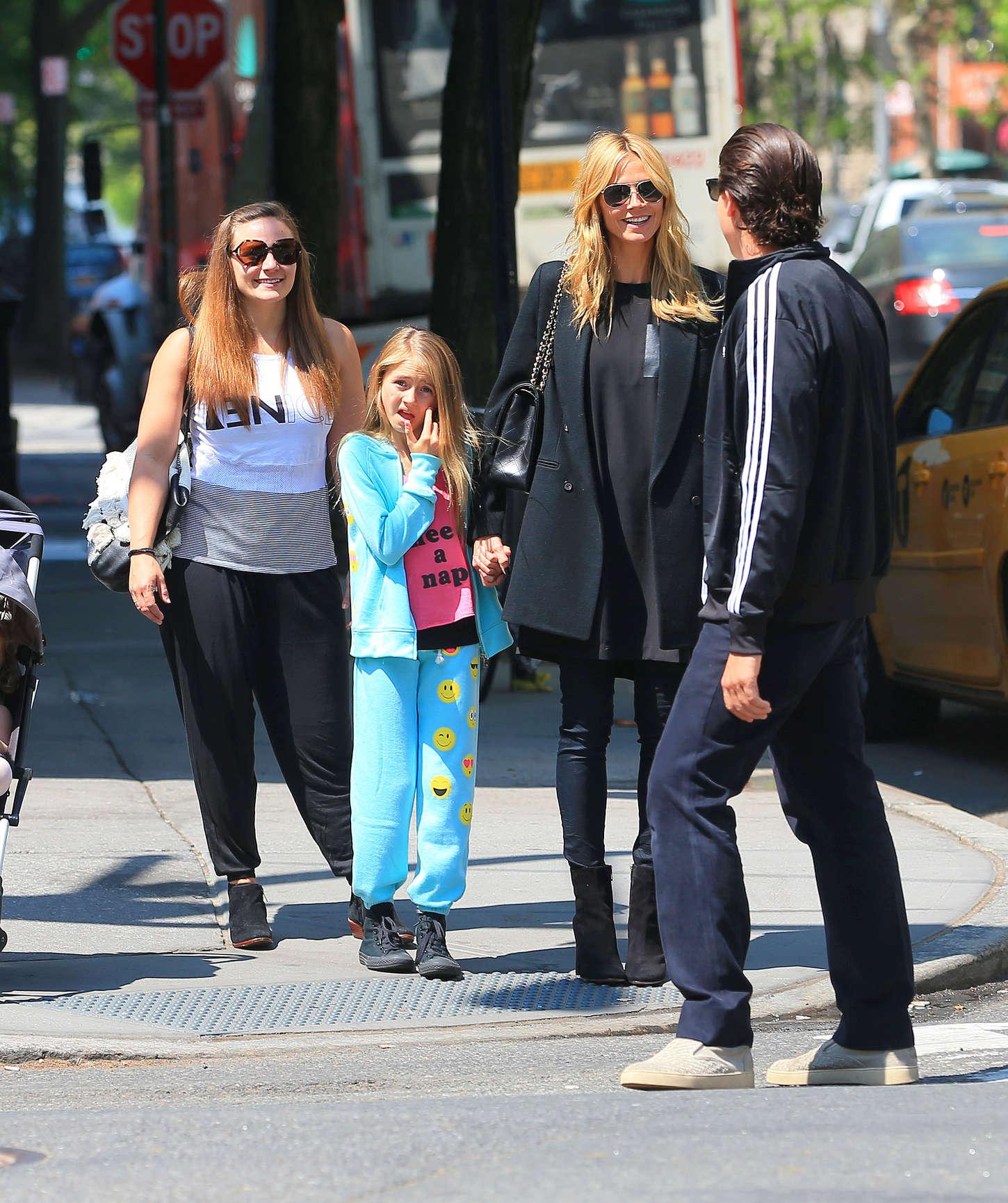 Heidi Klum 2015 : Heidi Klum in jeans -11