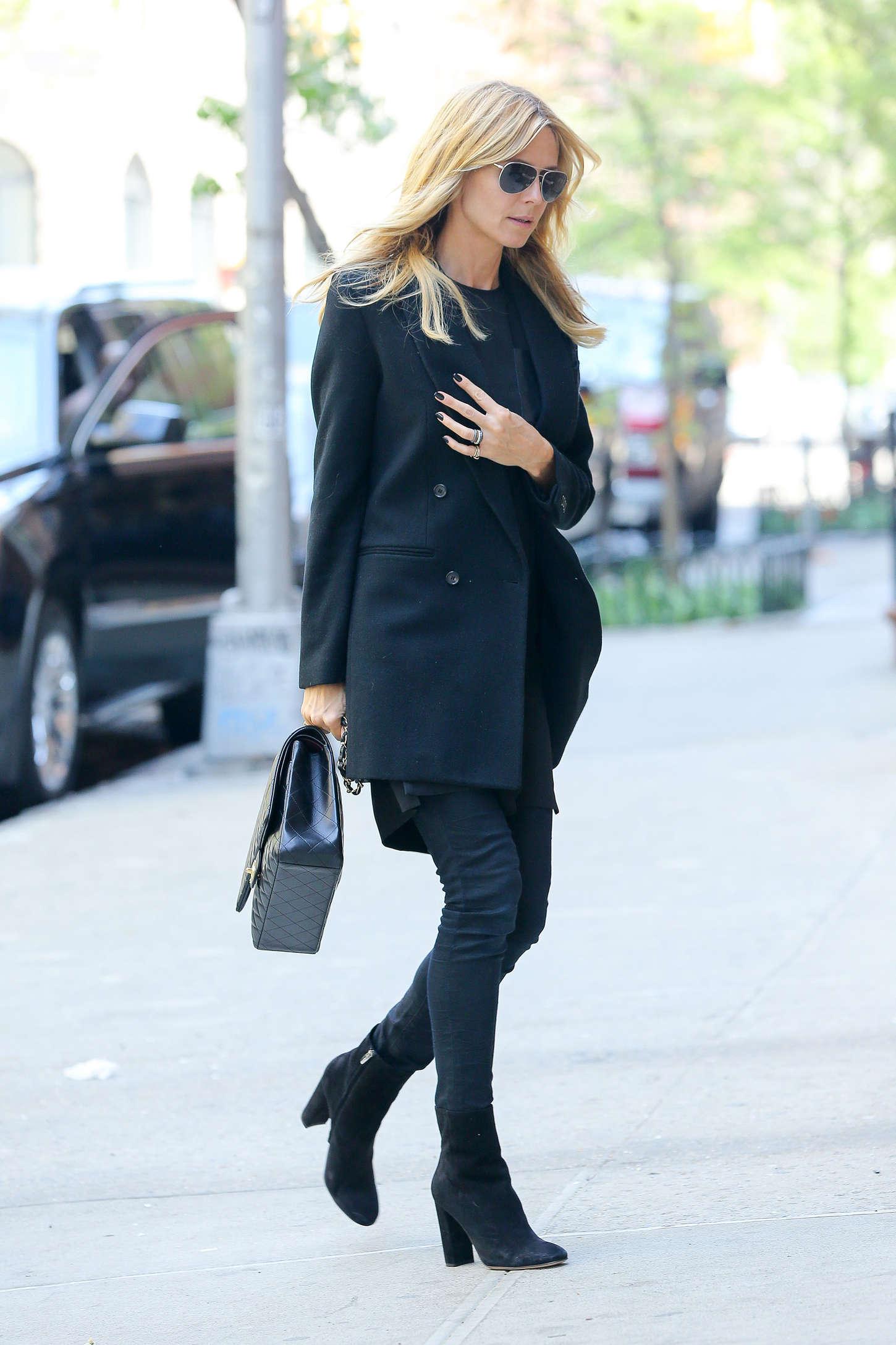 Heidi Klum 2015 : Heidi Klum in jeans -13