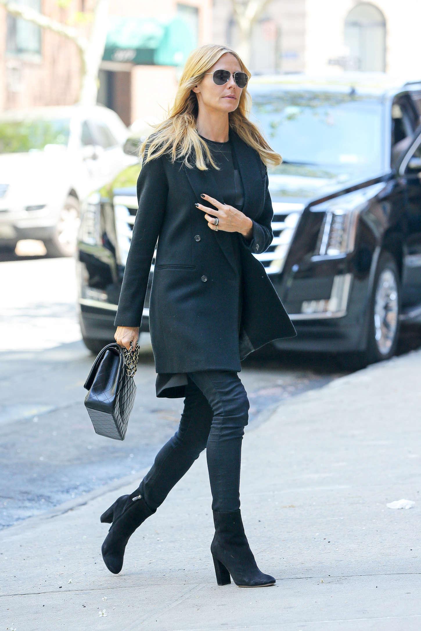 Heidi Klum 2015 : Heidi Klum in jeans -16