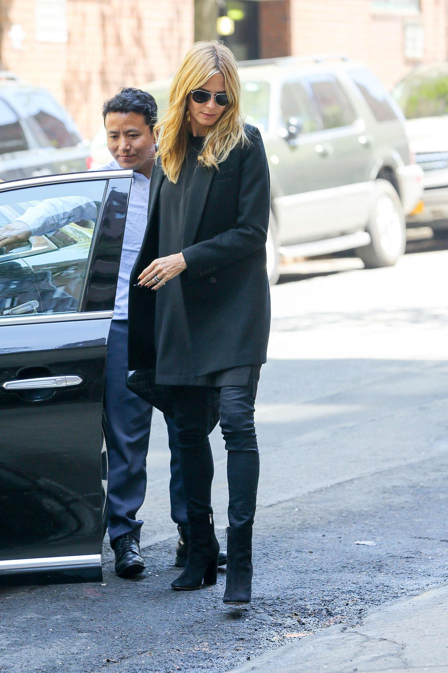 Heidi Klum 2015 : Heidi Klum in jeans -18