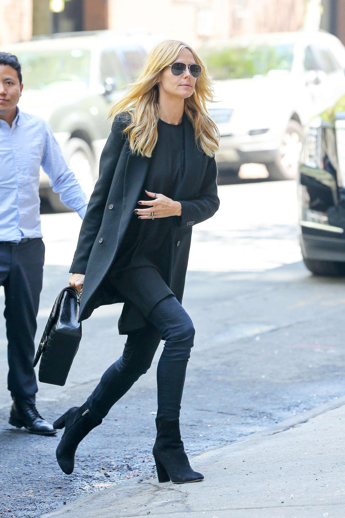 Heidi Klum 2015 : Heidi Klum in jeans -22