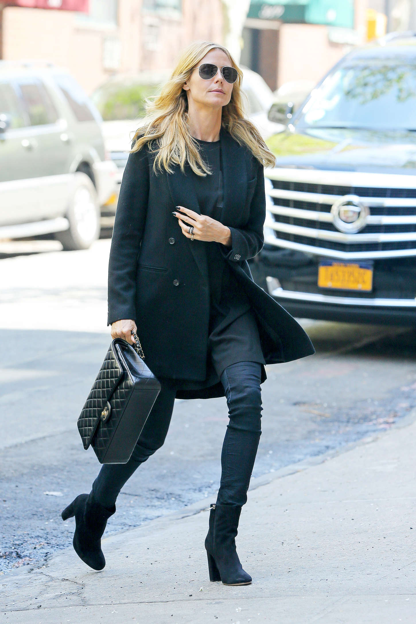 Heidi Klum 2015 : Heidi Klum in jeans -23