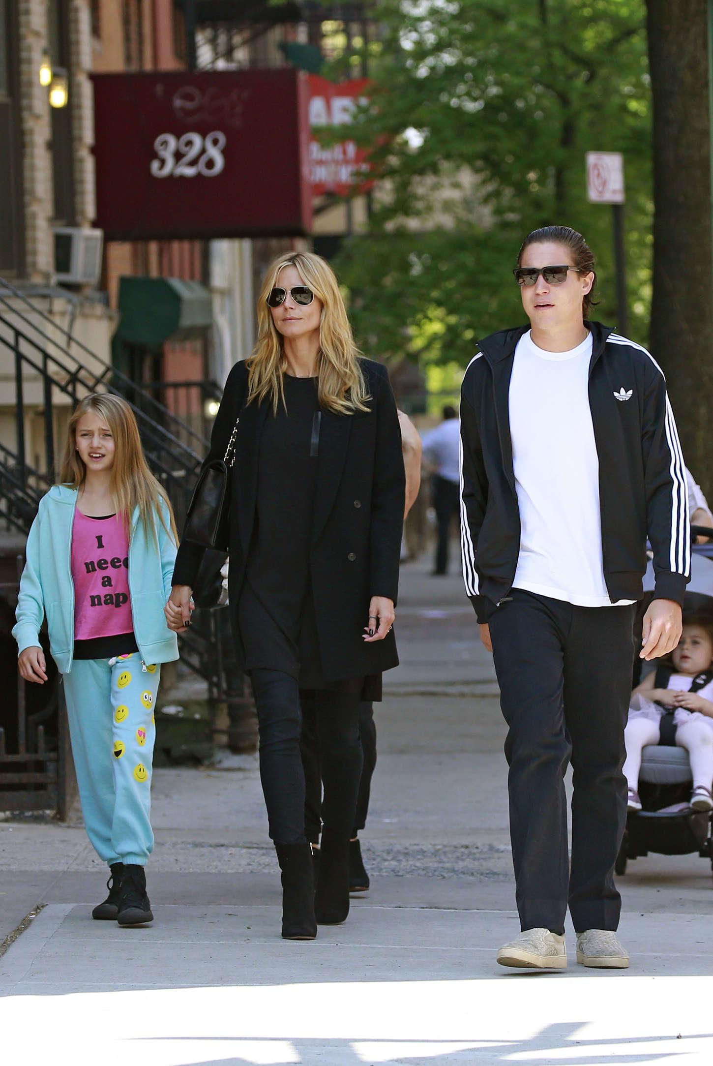 Heidi Klum 2015 : Heidi Klum in jeans -25