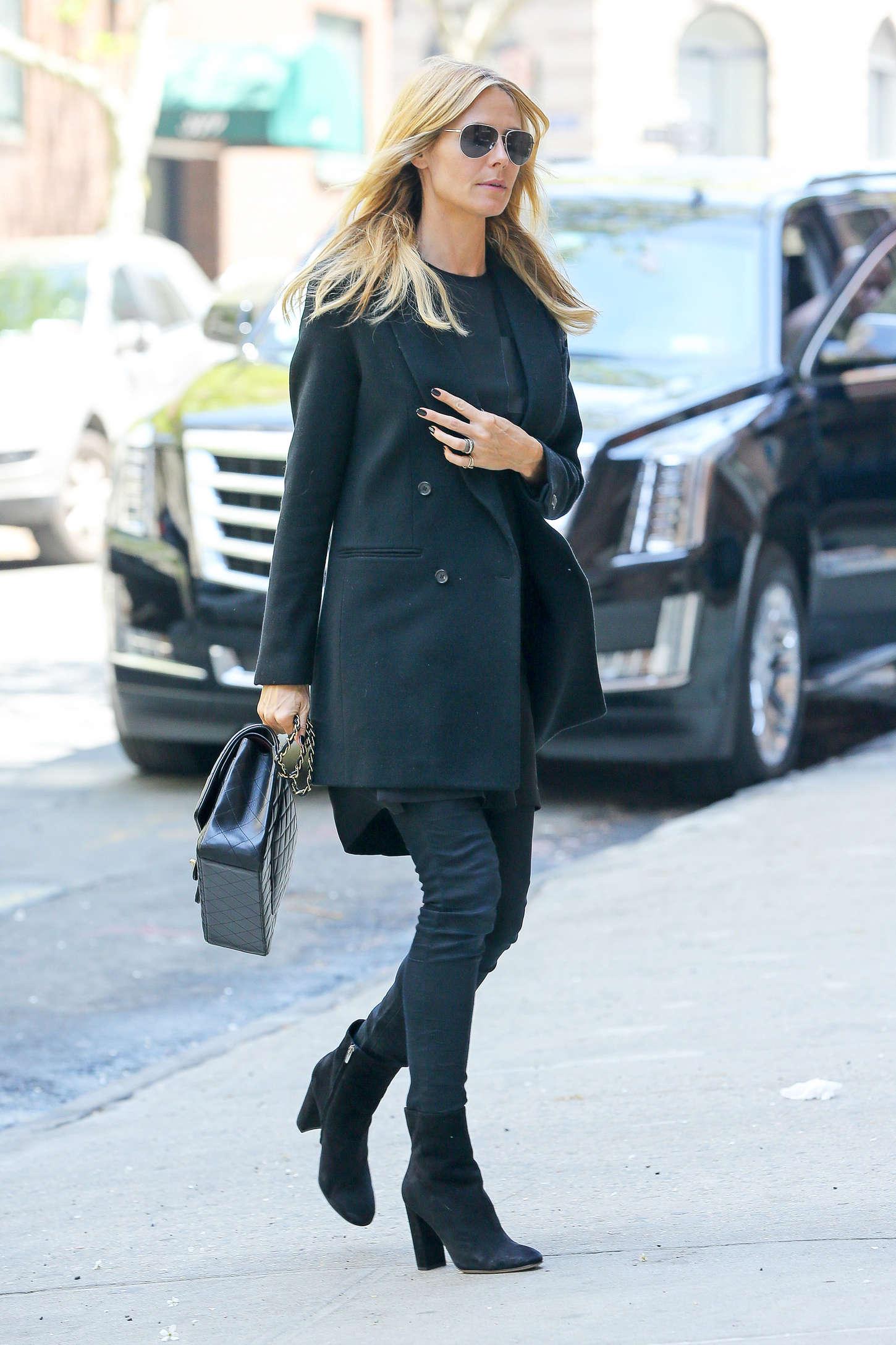 Heidi Klum 2015 : Heidi Klum in jeans -27