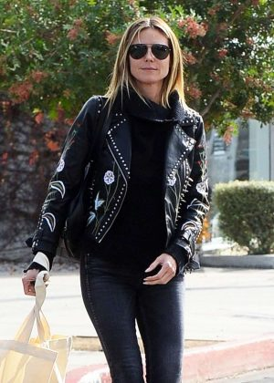Heidi Klum out and about in West Hollywood